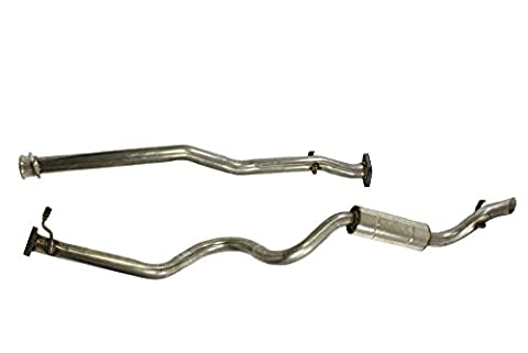 SS Stainless steel Exhaust System Defender 110 All 200TDi diesel