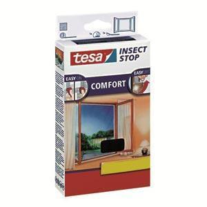 Fliegengitter für Fenster anthrazit 130x150cm Comfort-Fenster