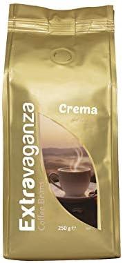 Extravaganza Whole Bean, Crema 250 g  x 12 packs