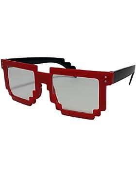De rayos UV gafas de sol para hombre para mujer Pixel Retro Minecraft con diseño de estampado de UV400