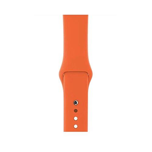 Image of Apple Watch Sportarmband, für Apple Watch 42 mm, orangerot