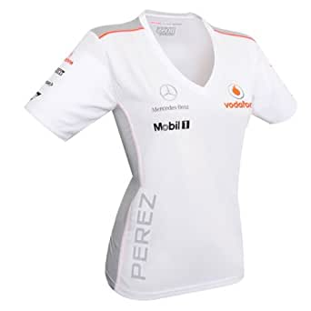 Vodafone McLaren Mercedes 2013 Perez Female T-Shirt (XS)