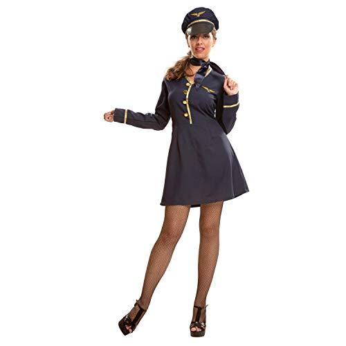 My Other Me Damen Kostüm Stewardess (viving Costumes) M-L (Stewardess Damen Kostüm)