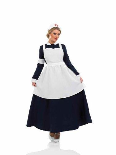 Viktorianische Krankenschwester - Adult Kostüm - Medium - 40-42