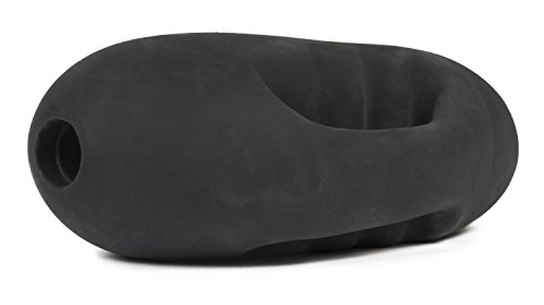 Deluxe mini Masturbator Bumsbohne, Stroker mit ergonomischem Griff, extra enge Taschenmuschi mit Lustrillen