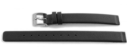 Skagen Uhrband Wechselarmband LB-358XSSLBC Original Ersatzband 358XSSLBC Uhrenarmband Leder 12 mm Sc