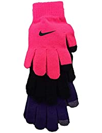 07e56efa15f Nike Youth Swoosh Basic Knitted Gloves (Hyper Pink (4A2678-A96)   Purple