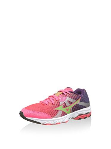 Mizuno - Elevation wave w - Chaussures running Rose