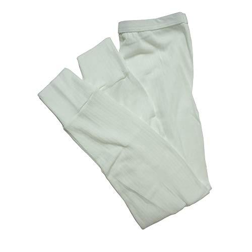 lange Thermo-Unterhose für Mädchen (Hergestellt in Großbritannien) (Alter: 3-5, Hüfte: 52 cm) (weiß)
