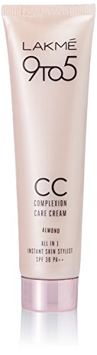 Lakme 9 to 5 Complexion Care CC Cream, Almond, 30g