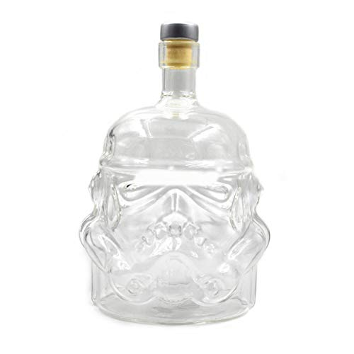 Tree-on-Life Transparent Creative Whiskey Flask Pitcher Decanter Stormtrooper Glass Bottle Wine Decanters Glass Cup