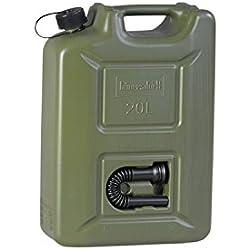 hünersdorff GmbH 802010 Nourrices à Carburant Profi Homologation Nu PE-HD Accessoire, Noir, 20L