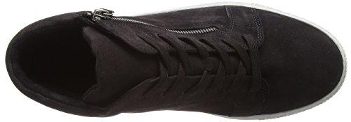 Gabor Shoes Comfort Basic, Scarpe Stringate Derby Donna Grigio (Dark-grey Micro)