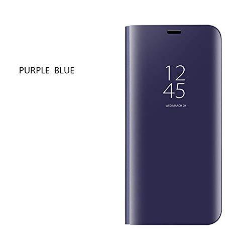 Momoxi Phone Accessory Huawei Handyhülle Handy-Zubehör Spiegelbeschichtung Schlaf Aufwachen Flip Leder Stehen Case Abdeckung für Huawei Mate 20pro lite hülle