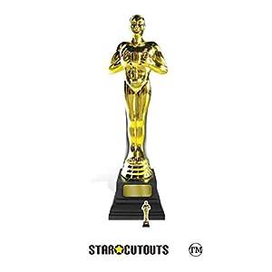 Star Cutouts SC1421 Estatua de cartón de tamaño real en perfecto para premios, fiestas y eventos VIP y Hollywood, multicolor