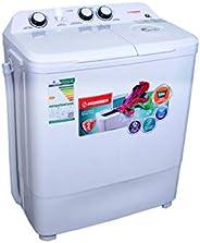 Hommer Washing Machine 7.0kg WhIte - HSA404-12