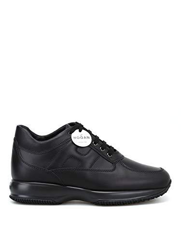 Hogan Sneakers Uomo Hxm00n00010klab999 Pelle Nero ab9197813eb