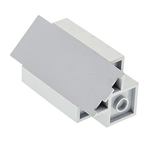 Star Lego Wars Mauer (1 x Lego System Mauerteil neu-hell grau 3x3x6 Panele Ecke Turm Mauer Wand Burg Castle Set Star Wars 8813 7097 7094 8823 7666 2345)