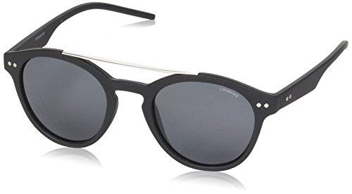 Polaroid Herren Sonnenbrille Pld 1016/S Y2 LL1, Schwarz (Matte Black Dark Havana/Grey Pz), 50