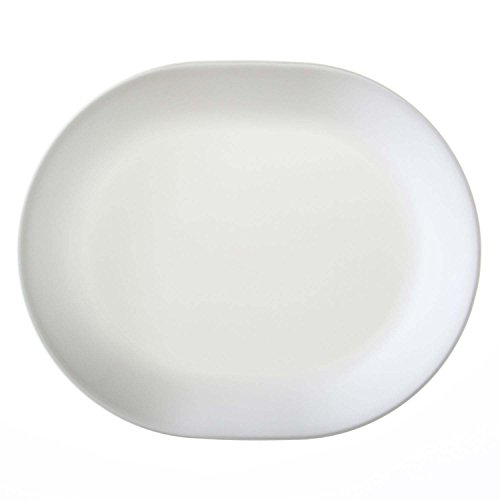Corelle Servierplatte Winter Frost White aus Vitrelle-Glas, 3er-Set - White Dinner Plate