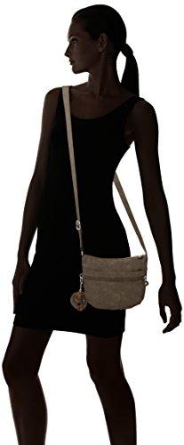 Kipling Damen Arto S Umhängetasche, 25x21x3 cm Beige (True Beige)