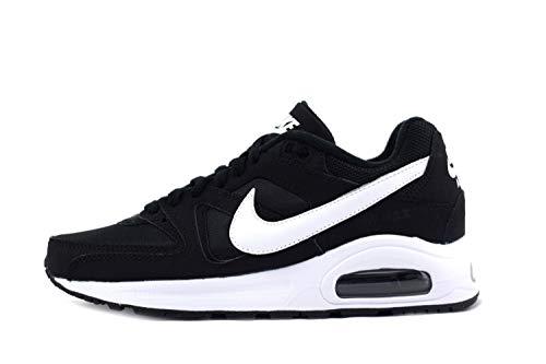 Nike Air Max Command Flex LTR 844346-011 , Black (Schwarz / Weiß Weiß), 38 EU (Weiße Nike Boys Sneakers)