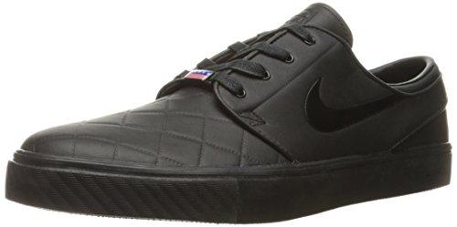 Nike Herren Zoom Stefan Janoski Elt Sbxfb Skaterschuhe, Black (Schwarz / Schwarz-Varsity Red), 44 EU