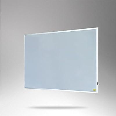 ColdFighting Geringer Rabatt 960W/1200W Weiß Rahmen Fernes Infrarot -Panel Elektrische Heizung Wand Heizung von Cold Fighting - Heizstrahler Onlineshop
