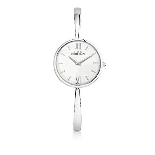 Orologio Donna Michel Herbelin–scandinavo–Quarzo–17418/B11–Quadrante Crema–Diametro 32mm–Bracciale acciaio
