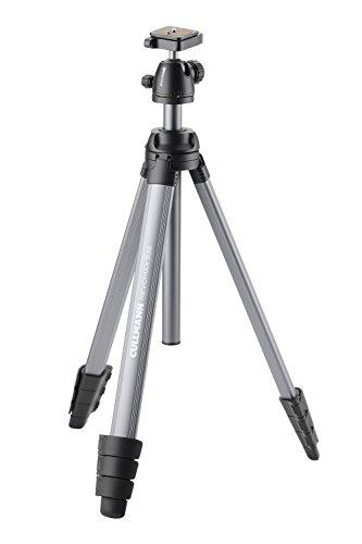 Cullmann Revomax 535 RB 7.3 Dreibeinstativ mit Kugelkopf und Kamera-Schnellkupplung (Packmaß 57,5 cm, 4 Auszüge, Höhe 157,5 cm, Tragfähigkeit 6 kg, Gewicht 1850 g)