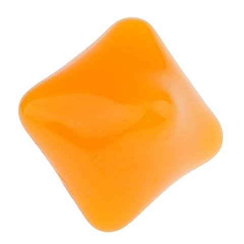 Gazechimp Boule de Poignet en Hexagone Squeeze Balle en Résine pour Entraînement l'Agilité Flexibilité des Doigts et Muscles - Jaune