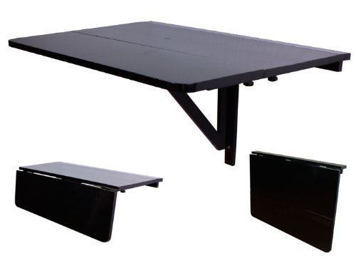 black and wood table sobuy folding wall mounted drop leaf table kitchen dining wood