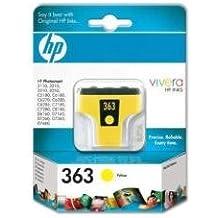 HP C8773EE - Cartucho de tinta HP 363, color amarillo