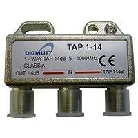 Digiality 4814 Divisor de señal para Cable coaxial Cable Divisor y combinador - Splitter/Combinador