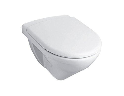 Kohler Odeon (K-8752In-S_White) Wall-Hung Toilet With Quiet Seat & Cover