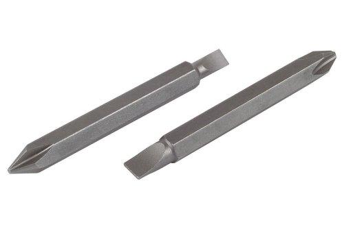 Wolfcraft 2407000-2 puntas dobles Solid, 60 mm, para taladradora electrónica