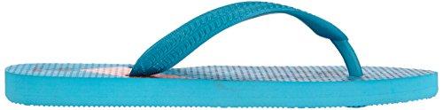 hummel FLIPFLOP JR Unisex-Kinder Dusch- & Badeschuhe Blau (Peacock Blue 8520)