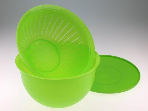 Tupperware(c) Junge-Welle, 4,3l-Schüssel mit Sieb(2)