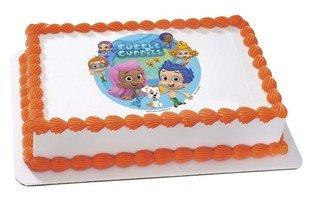Bubble Guppies comestibles gâteau ou cupcake décoration pour cookies image
