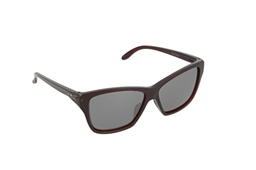 Oakley Damen Sonnenbrille Hold On Weiß (Frosted Rhone/Blackiridium), 58