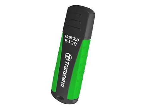 Transcend TS64GJF810 JetFlash USB 3.0 64GB Speicherstick schwarz/grün