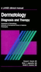Dermatology: Diagnosis and Therapy 1st Edition by Bondi, Edward E., Jegasothy, Brian V., Lazarus, Gerald S. (1992) Paperback