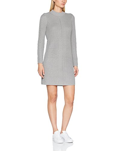 ESPRIT Damen Kleid 107EE1E001 Grau (Grey 5 034), Medium
