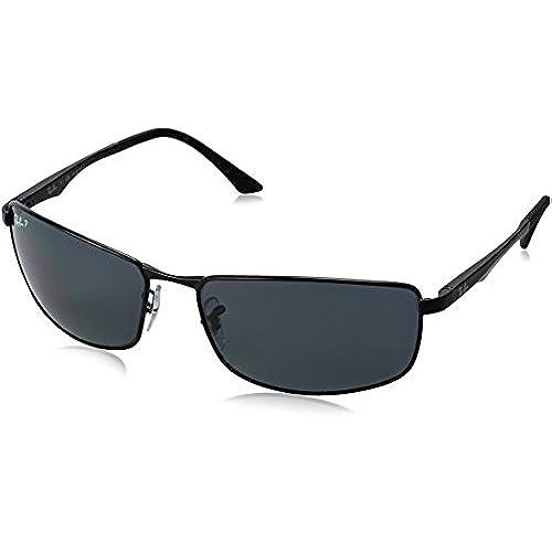ray ban sonnenbrille grau matt