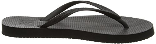Reef Escape, Tongs Femme Noir (Black)