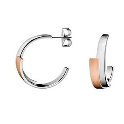 Calvin Klein Damen-Creole Edelstahl KJ2HPE280100