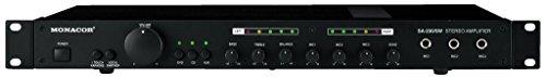 MONACOR SA-230/SW Universal Stereo-Mischverstärker schwarz