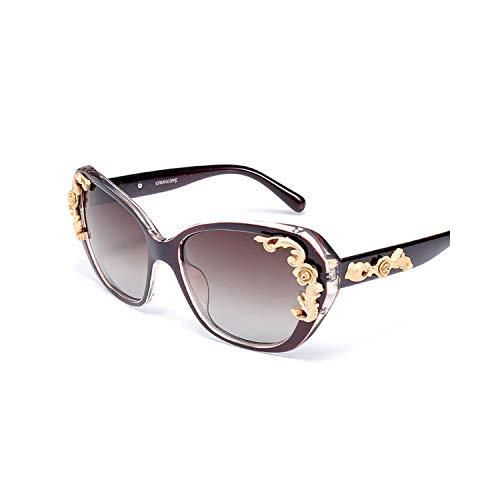 Sport-Sonnenbrillen, Vintage Sonnenbrillen, Sunglasses Women Polarisiert UV400 Lens Elegant Rhinestone Ladies Sun Glasses Female Sun Glasses Oculos De Sol Shades Eyewear 2957 Brown Brown