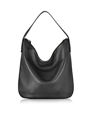 dkny-womens-r361030902009-black-leather-shoulder-bag