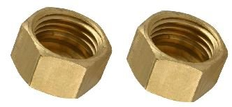 Pack of 2 Compression Fitting 3/4